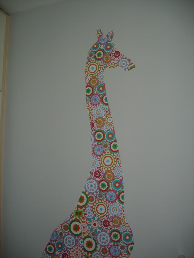Queria ficar lá sentada, olhando pra girafa o dia inteiro. Pode, Arnaldo?