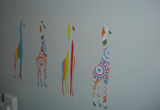 Mais girafas coloridas