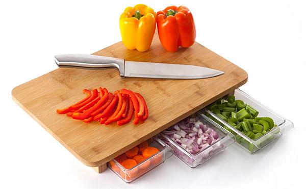 Tábua que facilita a vida na cozinha