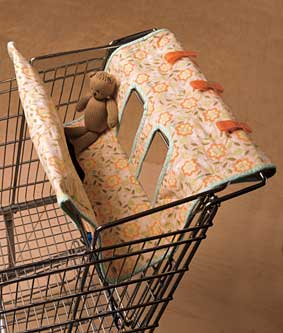 Protetor para crianças em carrinhos de supermercado: boa ideia, vai?