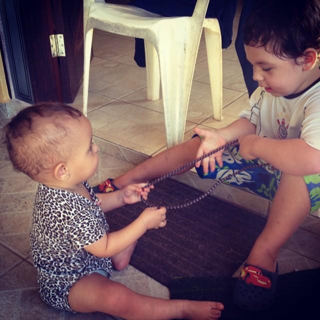 Bagunça com o primo